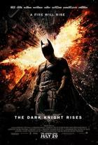 "Poster art for ""The Dark Knight Rises."""
