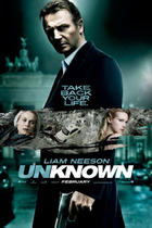 "Poster art for ""Unknown."""