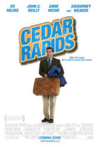"Poster art for ""Cedar Rapids."""