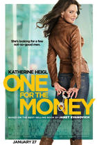 "Poster art for ""One for the Money."""