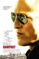 "Poster art for ""Rampart."""