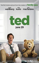"Poster art for ""Ted."""