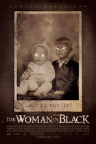 "Poster art for ""The Woman in Black."""