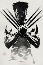 "Teaser poster for ""The Wolverine."""