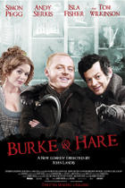 "Poster art for ""Burke and Hare."""