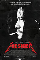 "Poster art for ""Hesher."""