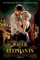 "Poster art for ""Water for Elephants."""