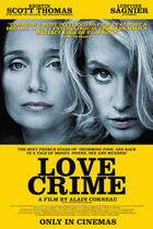 "Poster art for ""Love Crime."""