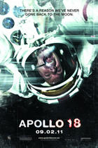 "Poster art for ""Apollo 18."""