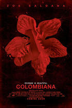 "Poster art for ""Colombiana."""