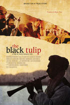 "Poster art for ""The Black Tulip."""