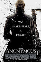 "Poster art for ""Anonymous."""