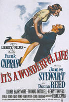 "Poster art for ""It's a Wonderful Life"""