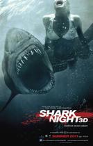 "Poster art for ""Shark Night 3D."""