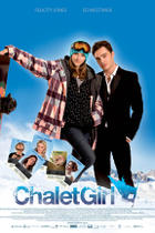 "Poster art for ""Chalet Girl."""