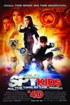 "Poster art for ""Spy Kids 4 3D: All The Time in the World."""