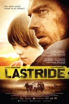 "Poster art for ""Last Ride."""