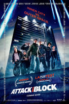 "`Poster Art for ""Attack the Block."""