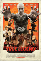 "Poster art for ""True Legend."""