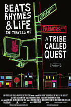 "Poster art for ""Beats, Rhymes & Life: The Travels of a Tribe Called Quest."""