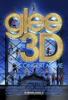 "Poster art for ""Glee 3D."""