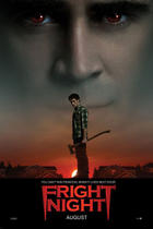 "Poster art for ""Fright night 3D."""