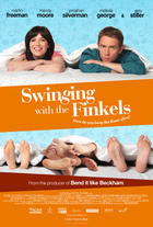 "Poster art for ""Swinging With the Finkels."""