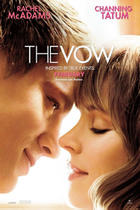 "Poster art for ""The Vow."""