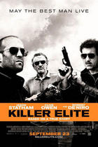 "Poster Art for ""Killer Elite."""
