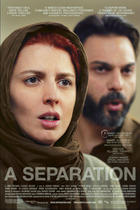 "Poster art for ""A Separation."""