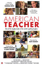 "Poster art for ""American Teacher."""