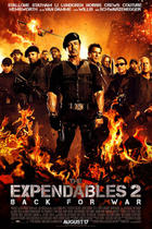 "Poster art for ""The Expendables 2."""