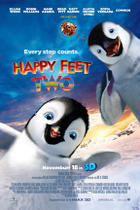 "Poster art for ""Happy Feet Two."""
