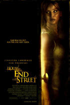 "Poster art for ""The House at the End of the Street."""