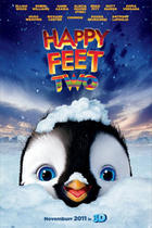 "Poster art for ""Happy Feet Two in 3D."""