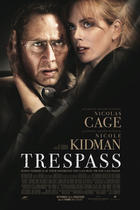 "Poster art for ""Trespass."""