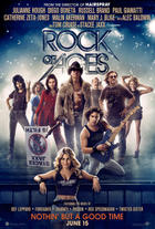 "Poster art for ""Rock of Ages."""