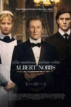 "Poster art for ""Albert Nobbs."""