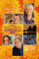 "Poster art for ""The Best Exotic Marigold Hotel."""