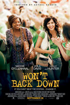 "Poster art for ""Won't Back Down."""
