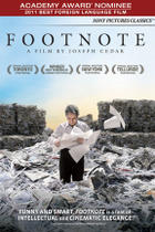 "Poster art for ""Footnote."""