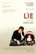 "Poster art for ""The Lie."""