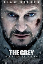 "Poster art for ""The Grey."""