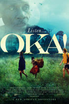 "Poster art for ""Oka!"""