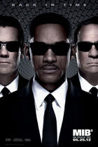 "Poster art for ""Men in Black III:An IMAX 3D Experience."""