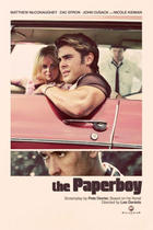"Poster art for ""The Paperboy."""