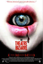 "Poster art for ""The Theatre Bizarre."""