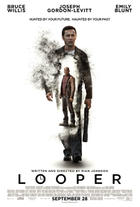 "Poster art for ""Looper."""