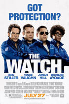 "Poster art for ""The Watch."""
