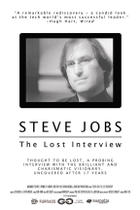 "Poster art for ""Steve Jobs: The Lost Interview."""